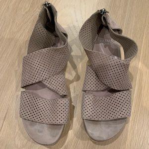 Eileen Fisher Beige Sandals